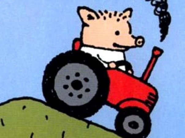 Peter the Piglet, the Tractor Driver Meme