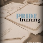 PRIDE Training – The First Week