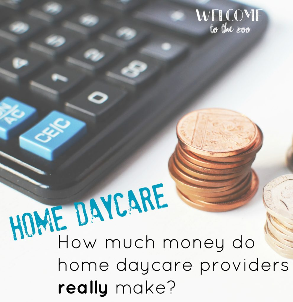 Home daycare how much money can you really make for How much to earn to buy a house