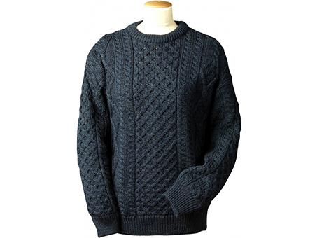 Aran crafts lightweight traditional aran sweaters for Aran crafts fisherman sweater