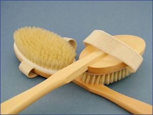 body brushes with wood handles