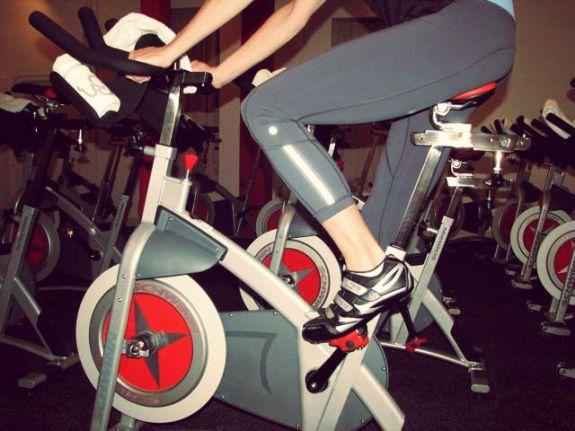 No evening workouts on bikini wax days. (Photo: Cycle Bar)