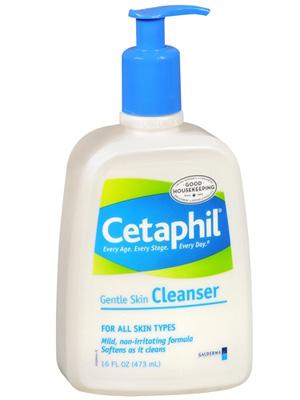 Cetaphil face cleanser