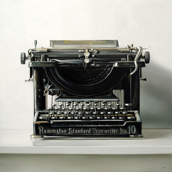 Remington No. 10 by Christopher Stott, oil on canvas  (2010)