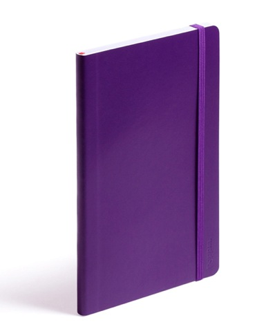Poppin purple softcover notebook
