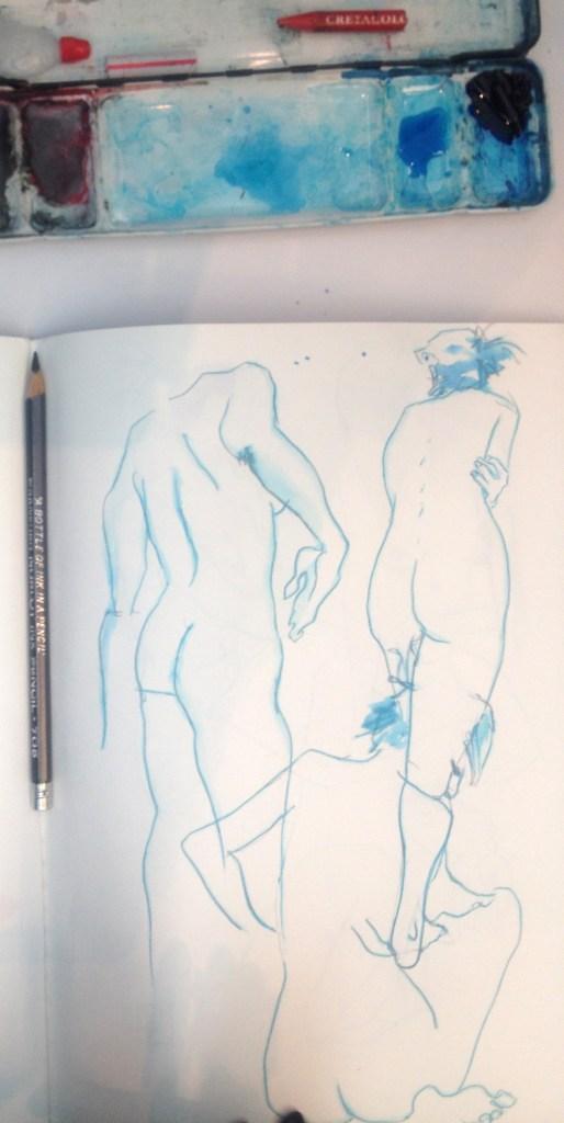 Hector Casanova NoBlot pencil sketches