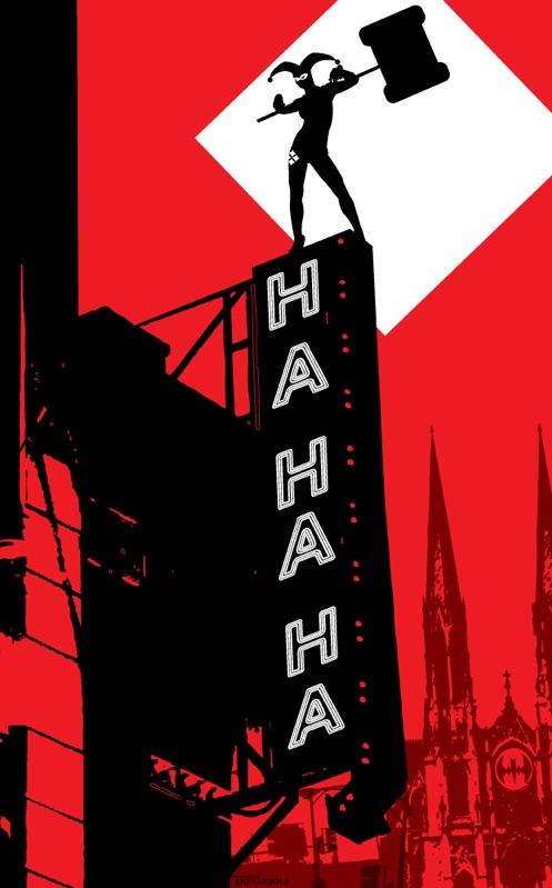 Harley Quinn by Tom Kelly