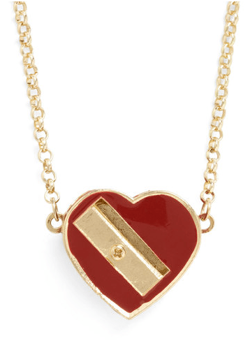 Modcloth Love to Draw Necklace