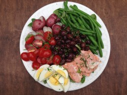 Catchy Salmon Rice Salmon Burgers What Goes Good Well Dined Salmon Nicoise Salad Salmon Well Dined What Goes Good