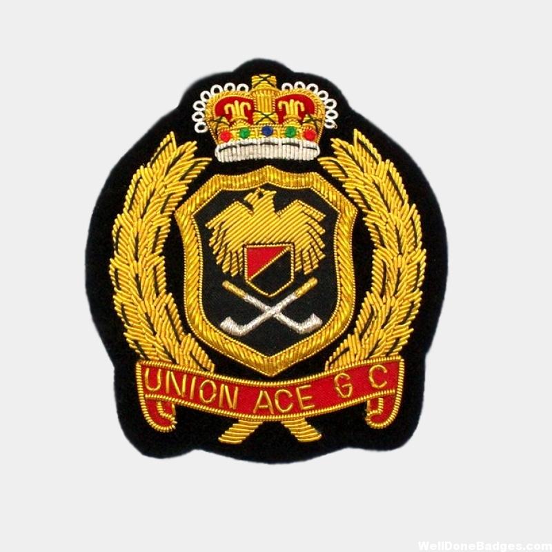 Golf Club Blazer badges