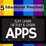 Educational Apps for Preschool