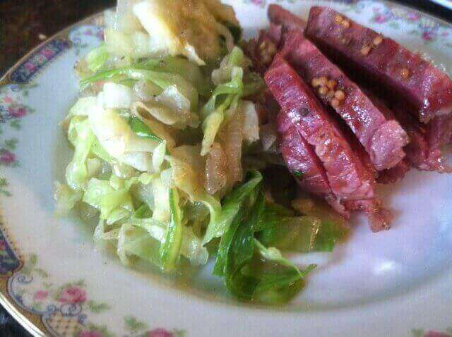 Corned Beef and Cabbage healthy Corned Beef & Cabbage