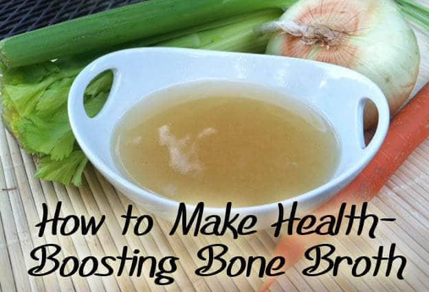 Homemade Bone Broth or Stock: Tutorial