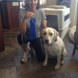 Lucy and Silvana Christy who passed the CGC!