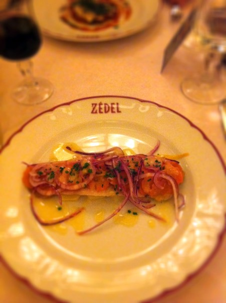 Filet de Hareng, Pommes à l'Huile Brasserie Zedel We Love Food, It's All We Eat