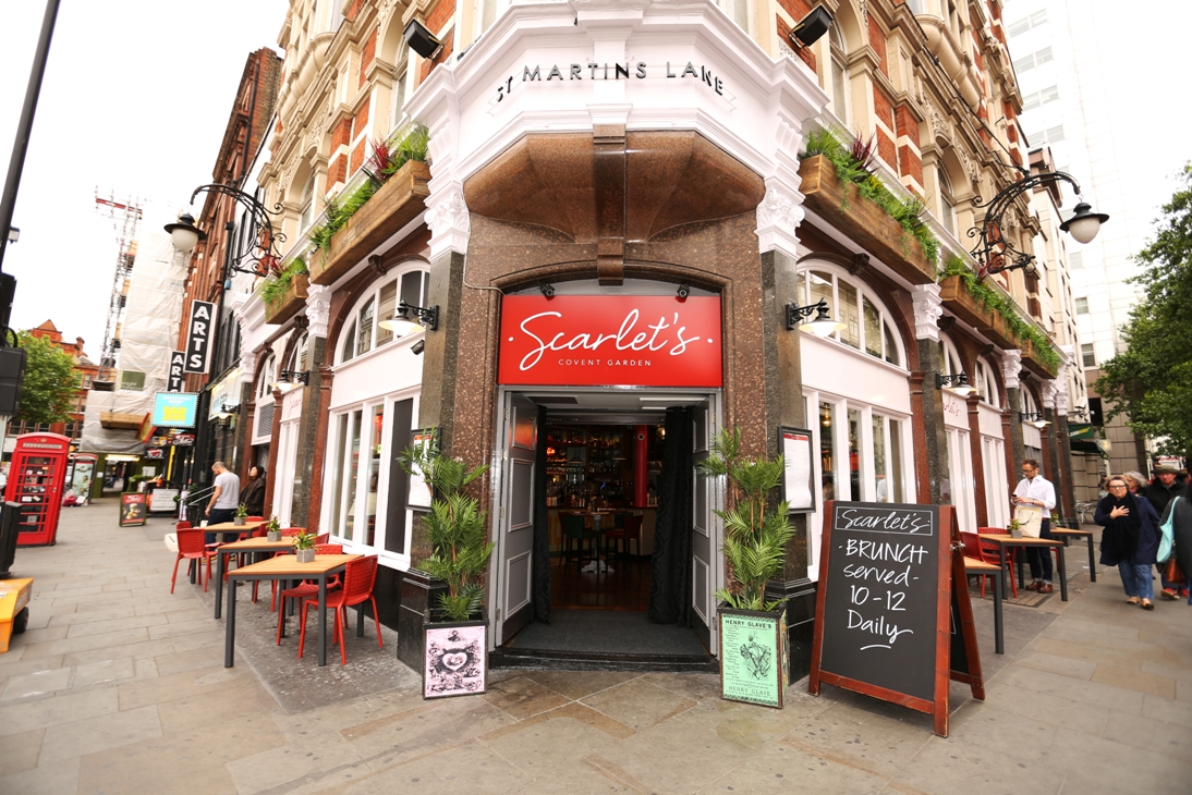 Take It As Red | Scarlet's, 1 Upper St. Martin's Lane, Covent Garden, London, WC2H 9NY