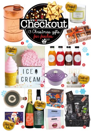 FOODIE XMAS GIFT GUIDE | CHECKOUT | WE LOVE FOOD IT'S ALL WE EAT