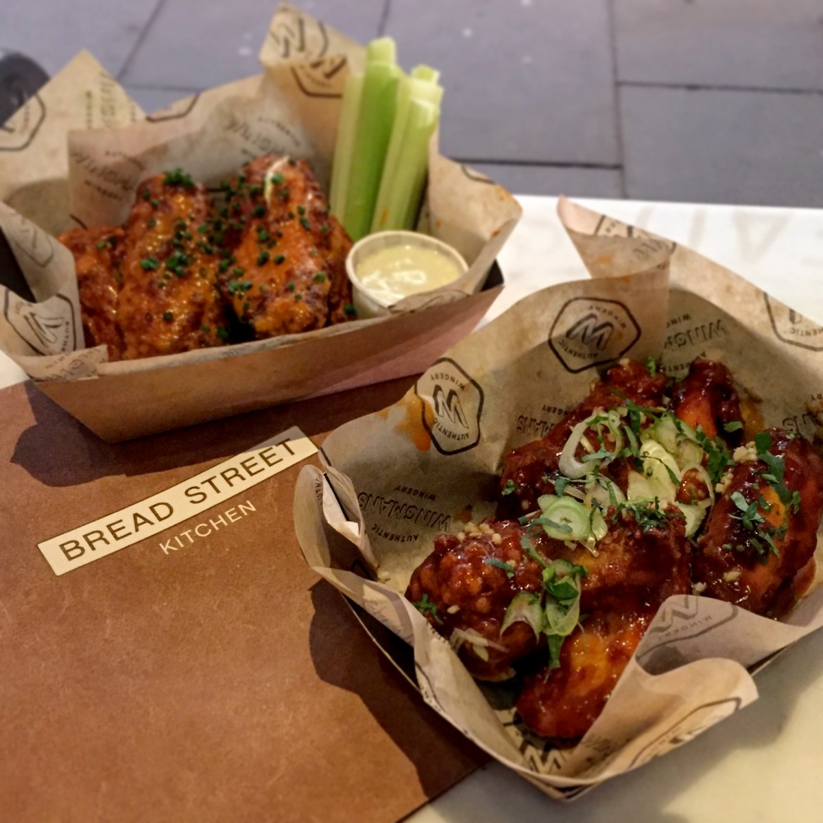 Bread Street Gives You Wings | Wingmans Bread St. Bar Sessions, Bread Street Kitchen, One New Change, London EC4M 9AJ