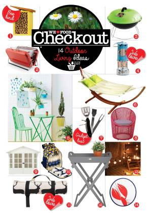 OUTDOOR LIVING CHECKOUT | WE LOVE FOOD, IT'S ALL WE EAT | OUTDOOR SHOPPING