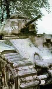 französische schwere Kampfpanzer Char B1