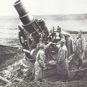 30,5-cm-Mörsers an der Ostfront