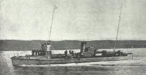 deutsches kleines Küsten-Torpedoboot der A-Klasse