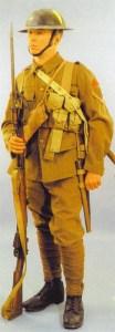 Britischer Infanterist 1916