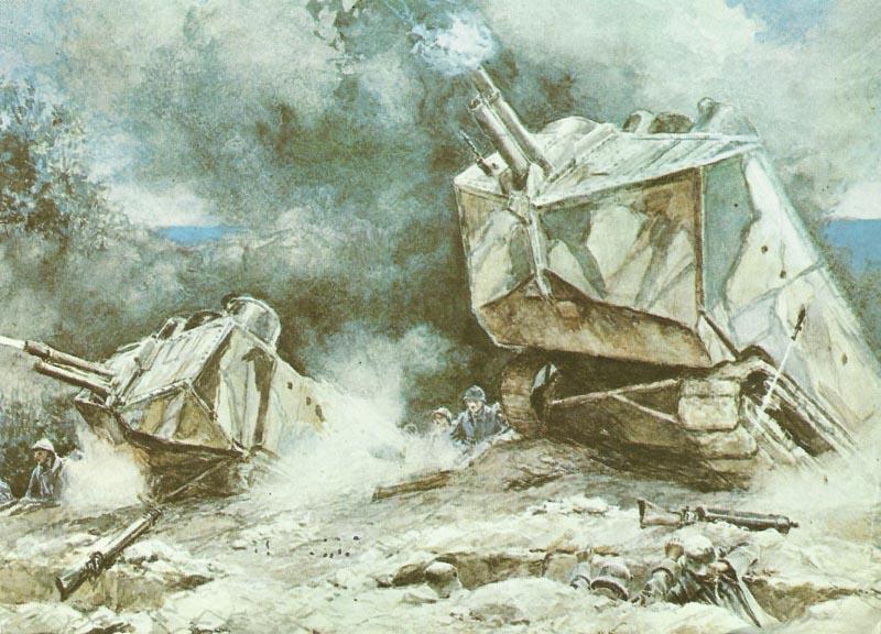 Saint Chamond Sturmpanzer