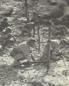 britische Patrouille Tobruk