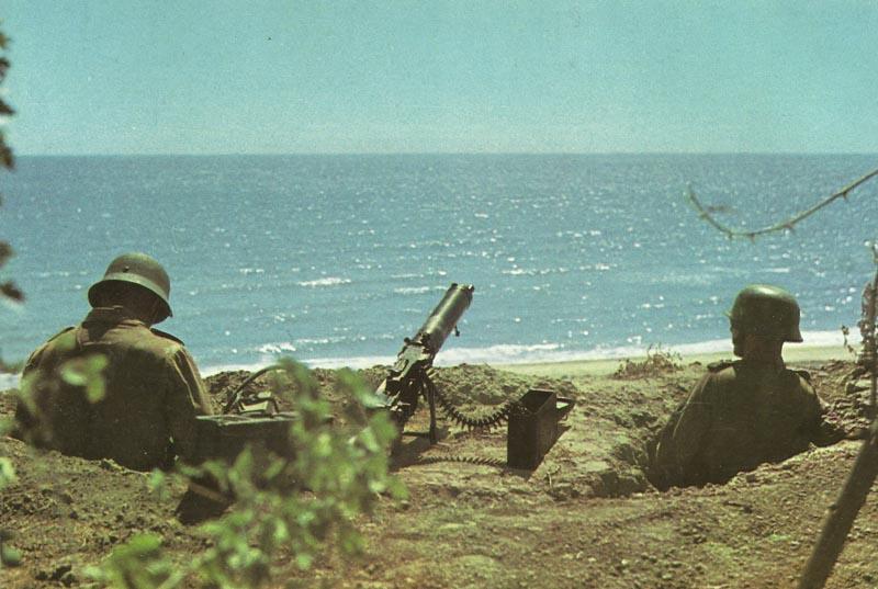 deutscher Küstenschutz auf Kreta