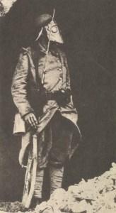 französischer Soldat  vor Fort Souville