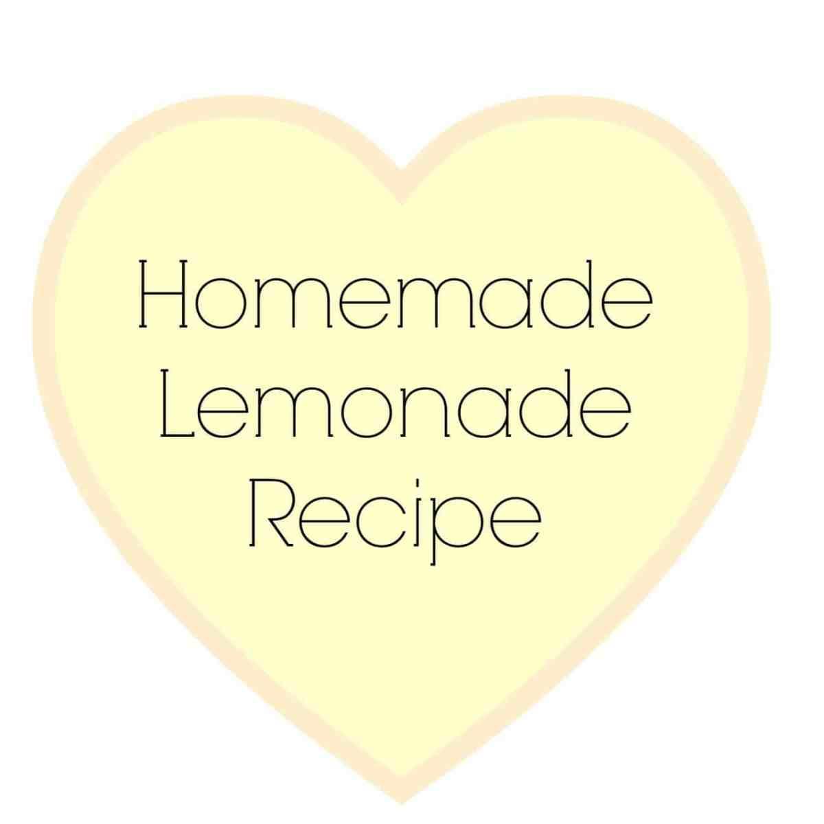 Recipe: Homemade Lemonade