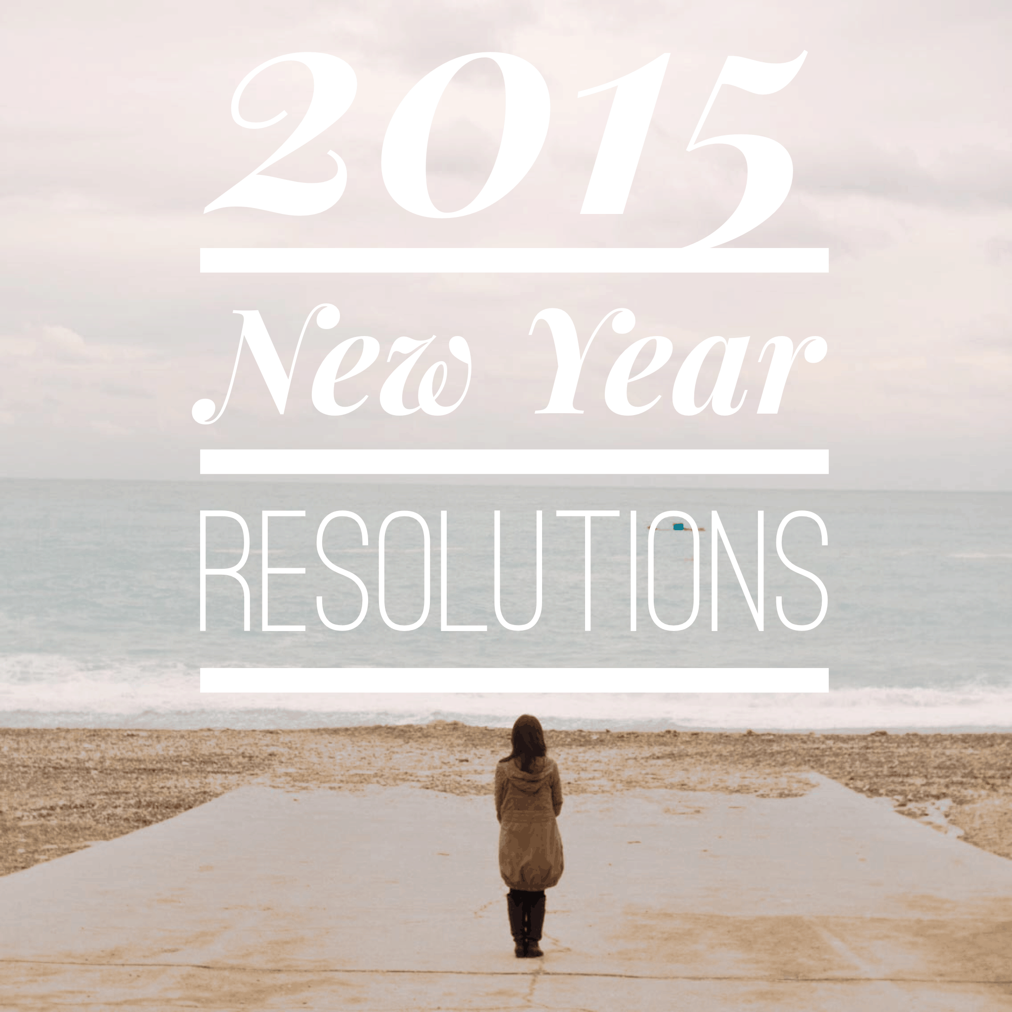 2015 new year resolutions