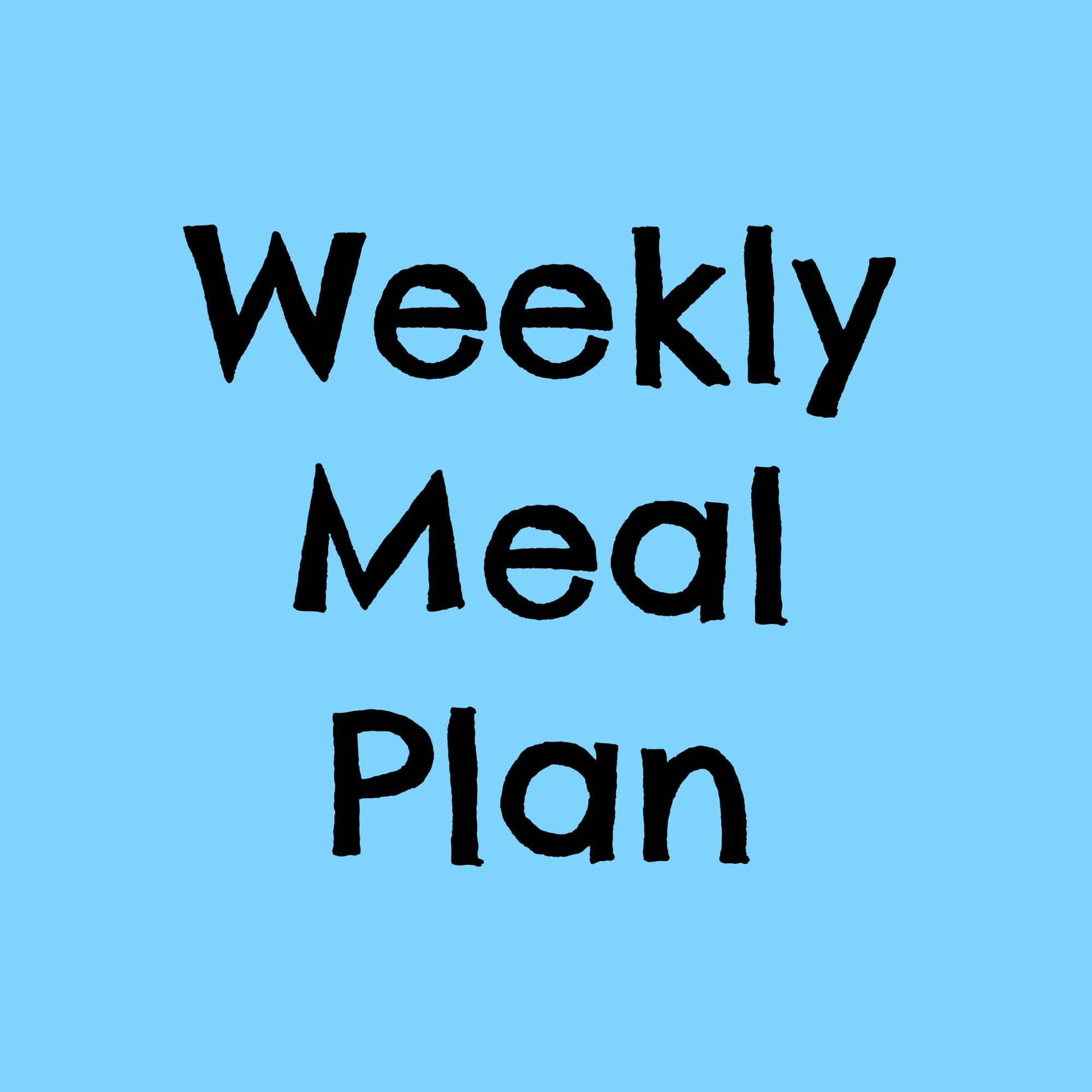 weeklymealplan