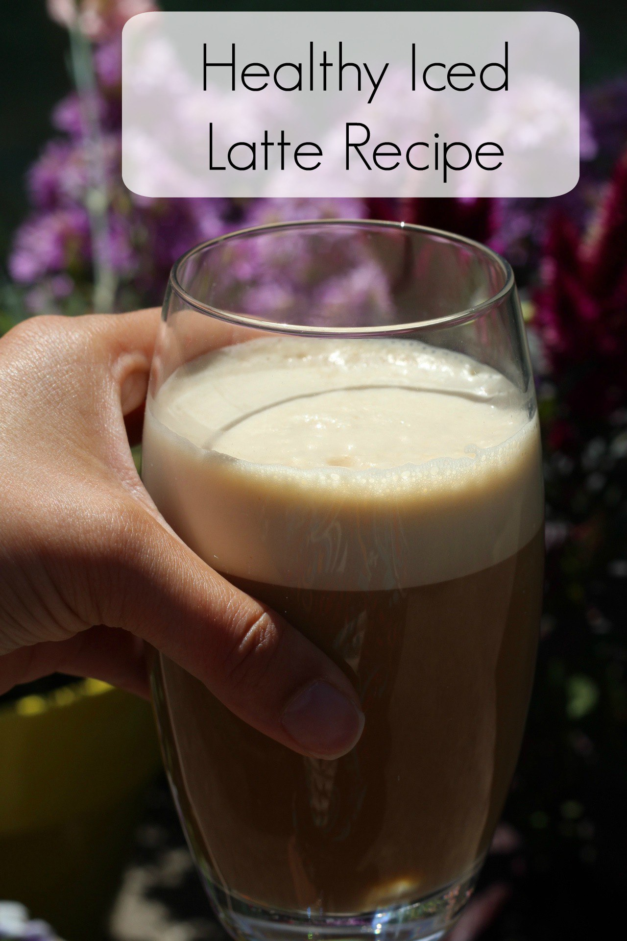 healthy iced latte recipe