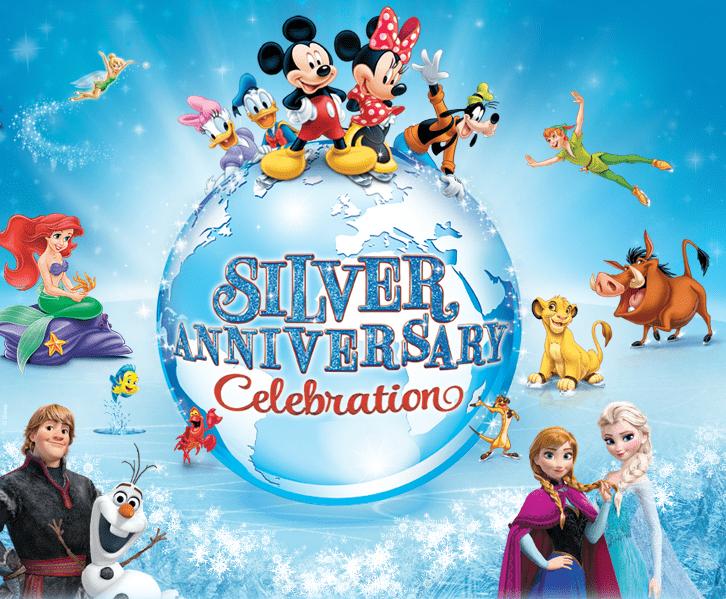 disney on ice silver anniversary