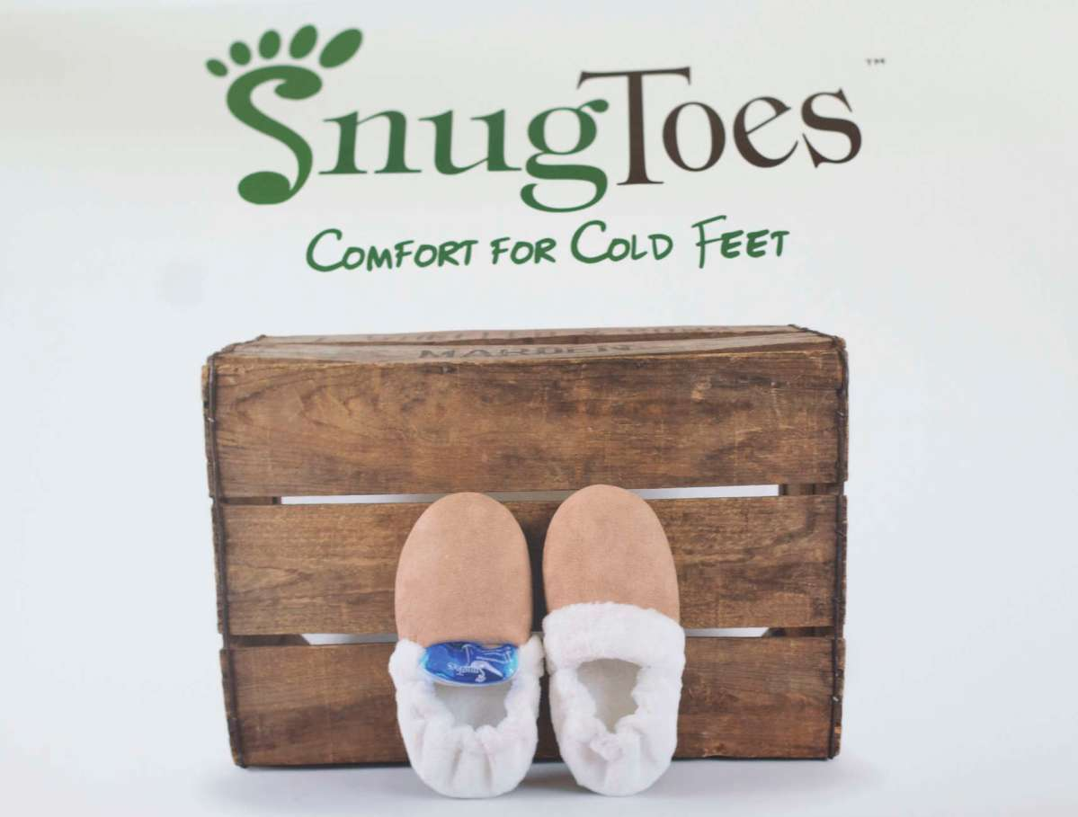 SnugToes Heated Slippers Review & Giveaway