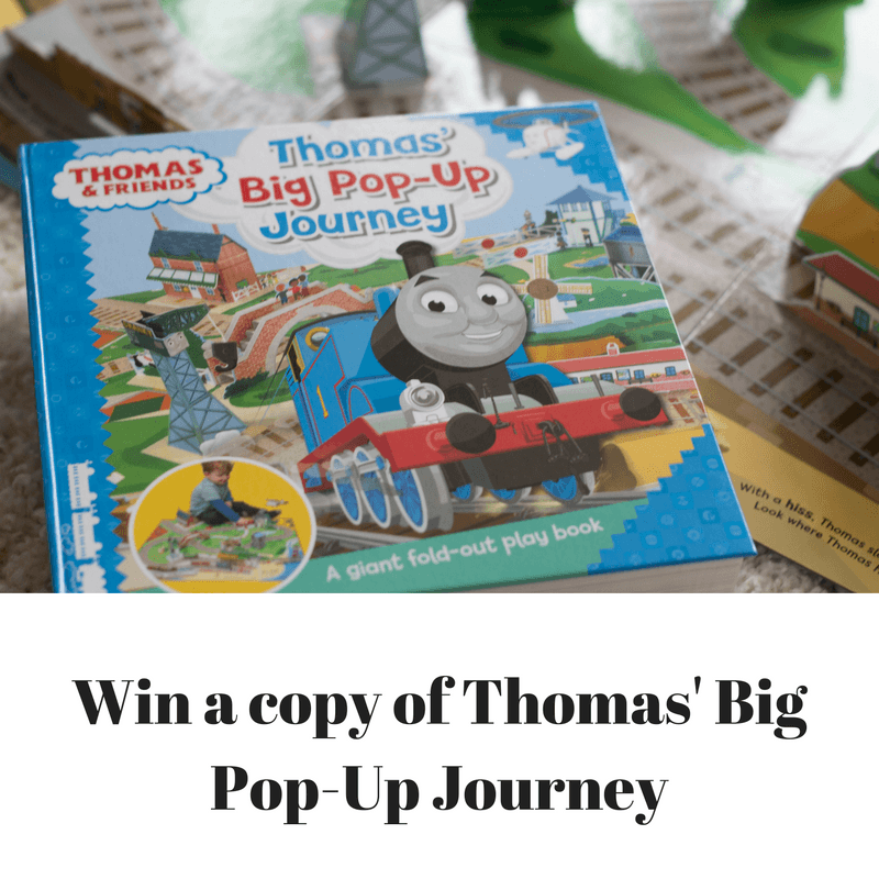 Thomas' Big Pop-Up Journey Review & Giveaway