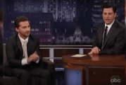 Shia LaBeouf Claps For Himself. A LOT. (Video)