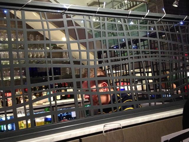 Wembley Pizza Express interior