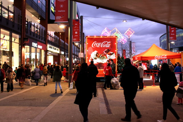 Wembley Coca Cola truck 1