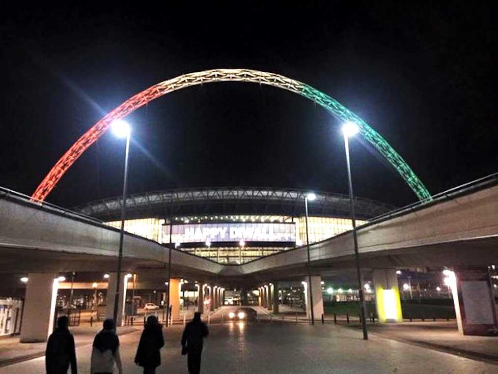 Narendra Modi live at Wembley