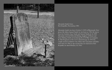 Alexander Smith Headstone, Port Republic
