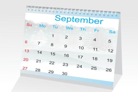 calendar september1