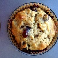 Karen's Famous Banana Blueberry Muffins