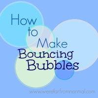 How to Make Bouncing Bubbles (With My Special Guest Vlogger)