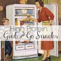 High Protein Grab & Go Snacks