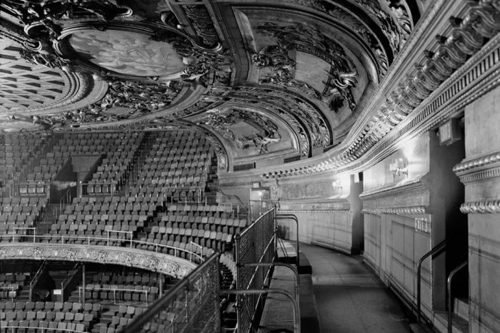 Detail of original Metropolitan Opera House