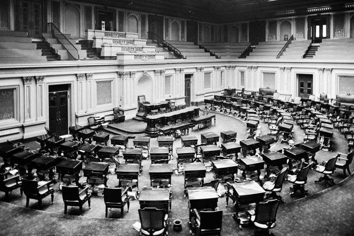 Senate Chamber, c. 1873