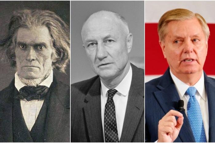 John Calhoun, Strom Thurmond, & Lindsey Graham